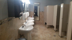 Church Buildout Bathrooms after