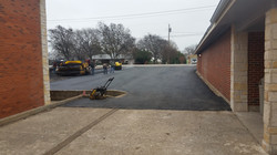 Parking lot refacing