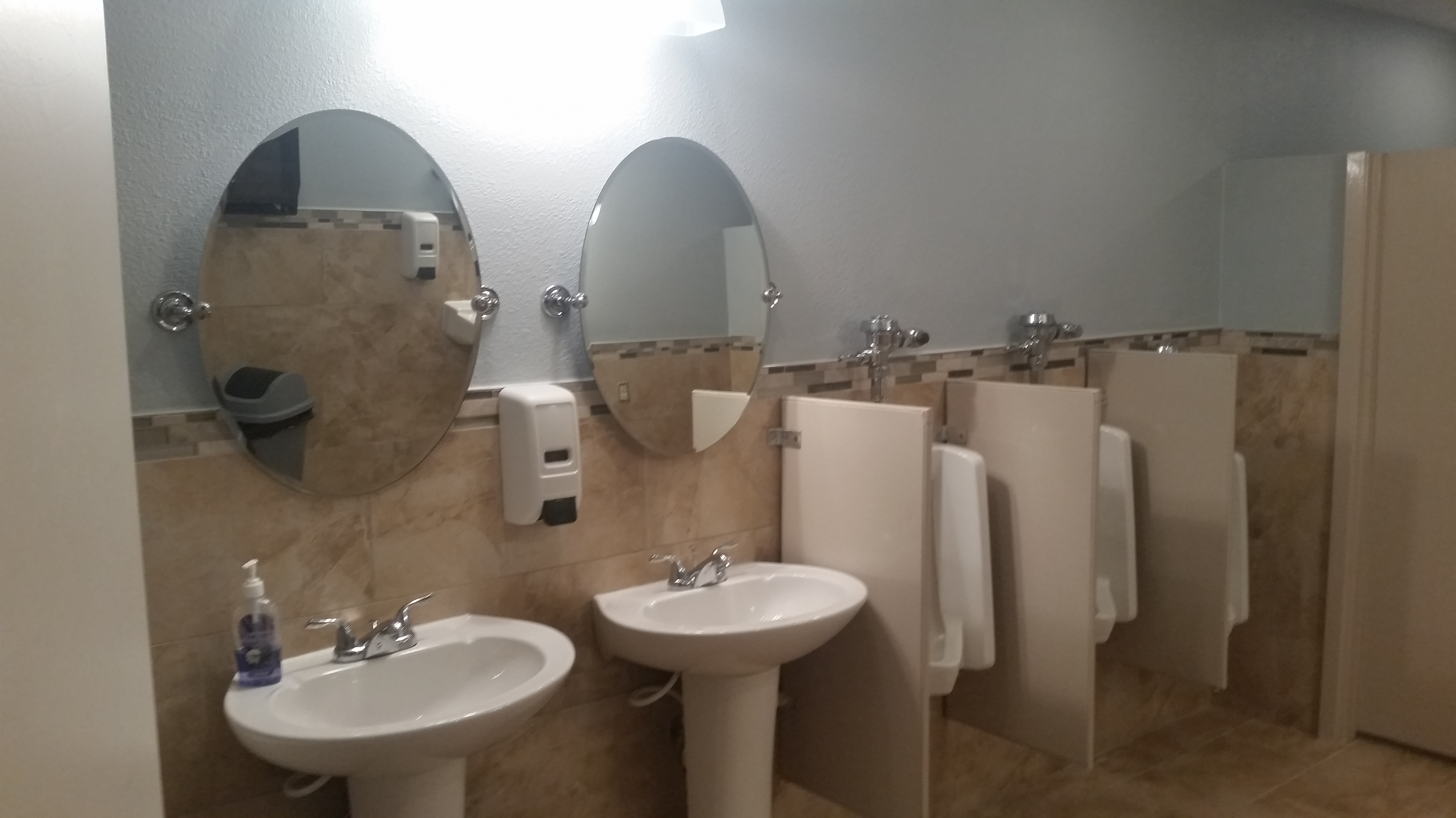 Church Buildout bathrooms after3