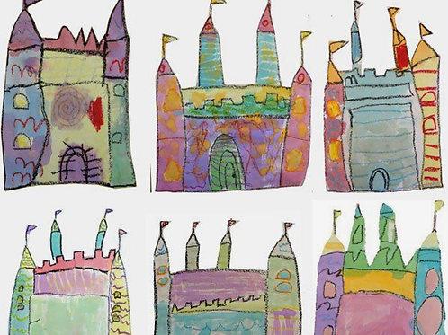 Fairy Tales & Superheroes Art Camp Box
