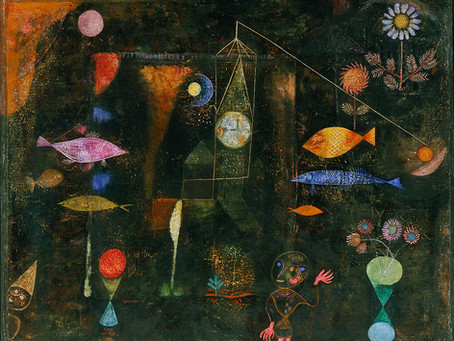 Paul Klee Scratch Art