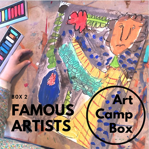Famous Artists Camp Box