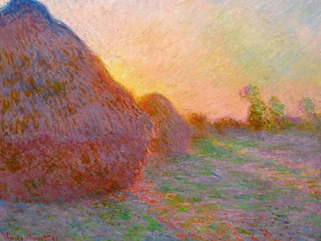 Monet in the Garden!