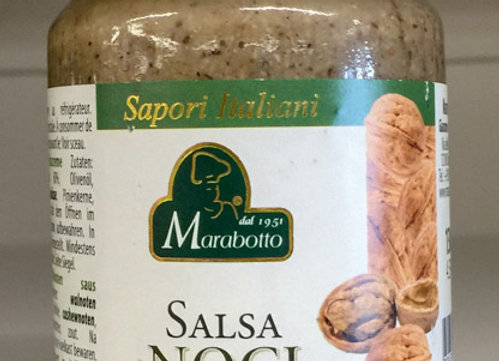 Salsa Noci Marabotto 130gr
