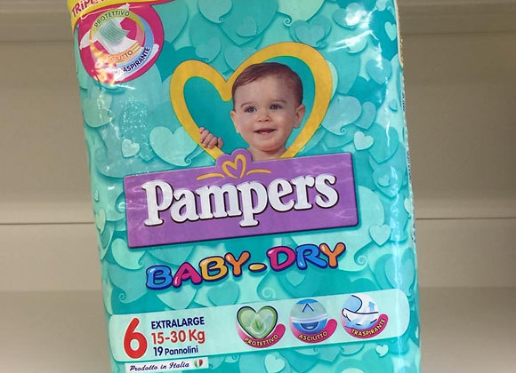 Pannolini Pampers Baby-Dry 6 15-30 kg.