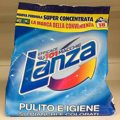 Detersivo lavatrice pulito igiene LANZA