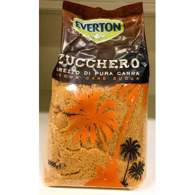 Zucchero di canna EVERTON 1 kg.
