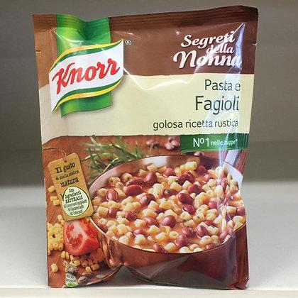 Minestrone pasta e fagioli KNORR