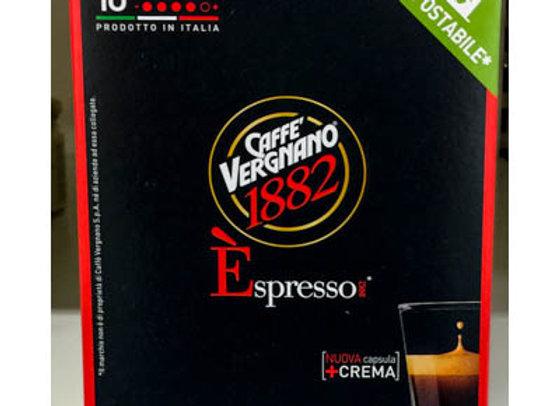10 Capsule espresso  CREMOSO VERGNANO