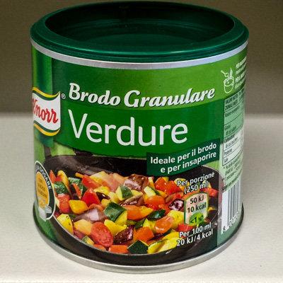 BRODO granulare verdure KNORR