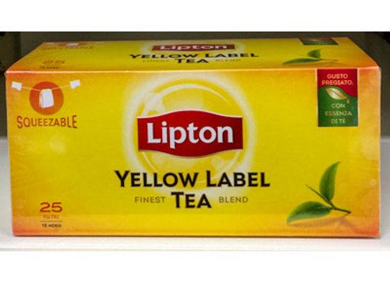 Tè YELLOW LABEL LIPTON (25 buste)