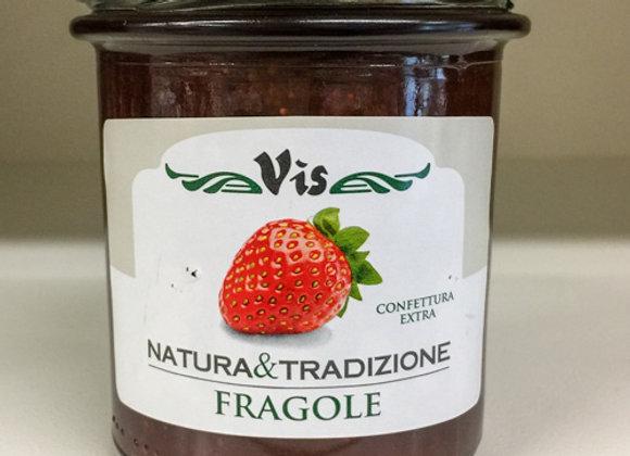 Confettura Fragole Vis 360gr