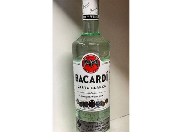 Rum Bacardi Carta Bianca 70cl
