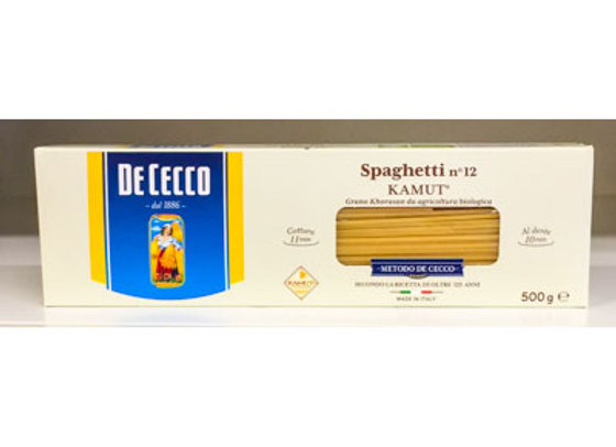Spaghetti KAMUT n.12 DE CECCO 500 gr.