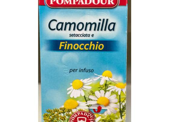 Infuso Camomilla Finocchio Pompadour