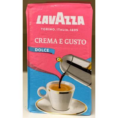 Caffe' CREMA e GUSTO LAVAZZA 250 gr.