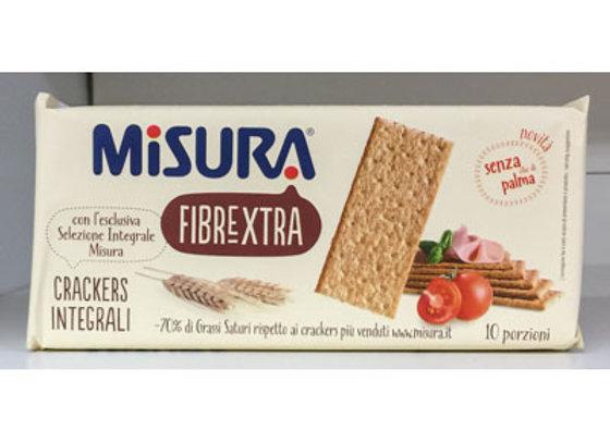 Crackers Integrali Fibrextra Misura 385gr
