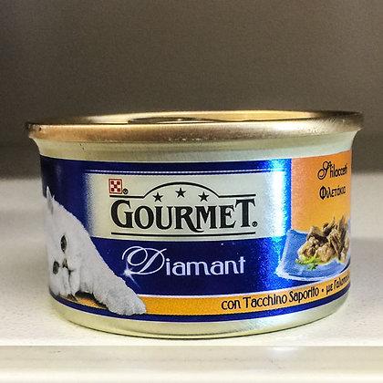 Gourmet Diamant 85 gr.tacchino