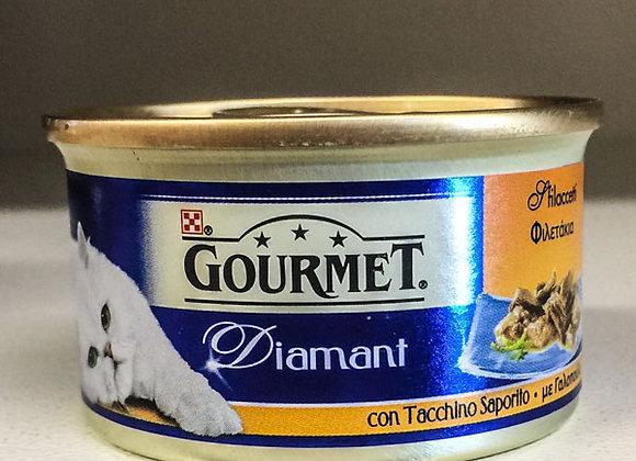 Gourmet Diamant Tacchino 85gr
