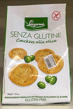 CRACK S.GLUTINE OLIVE LAZZARONI