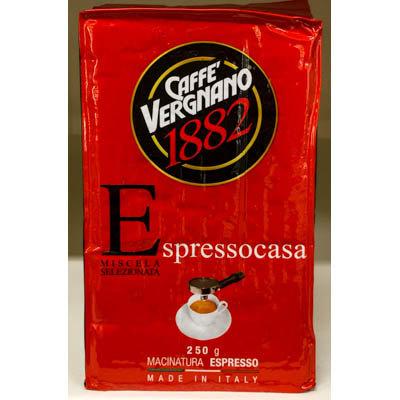 Caffe' EspressoCasa VERGNANO 250 gr.