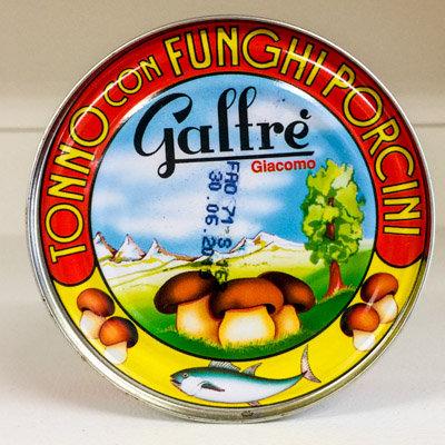 TONNO E FUNGHI GALFRE 160 GR