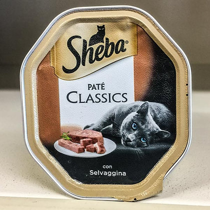 SHEBA PATE 100 gr. selvaggina
