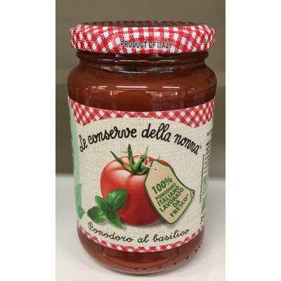 Conserva pomodoro e basilico