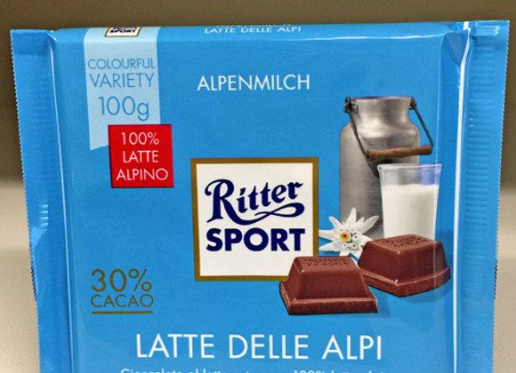 Ritter Sport Latte Alpi