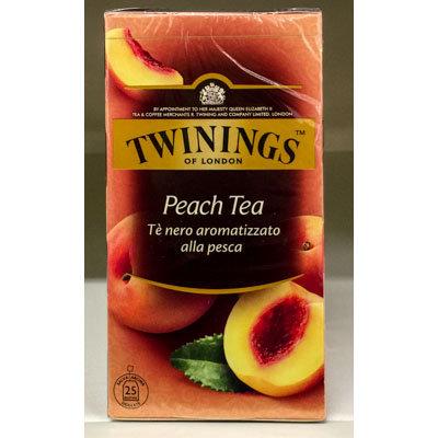 Peach Tea TWININGS 25 bs.