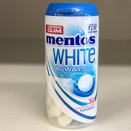 MENTOS CHEWING  GUM peppermint