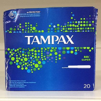 Assorbenti interni TAMPAX super 20x
