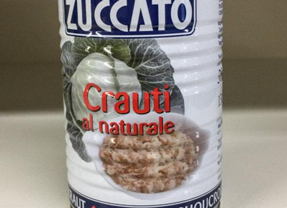 Crauti al Naturale Zuccato 385gr