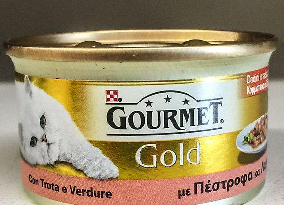 Paté Trota Verdure Gourmet Gold 85gr