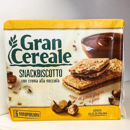 SNACK BISCOTTO Gran Cereale Nocciola