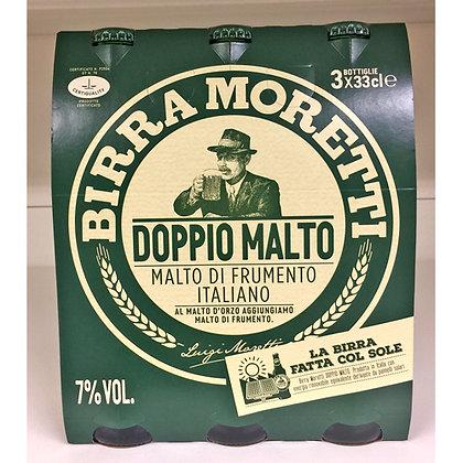 BIRRA MORETTI DOPPIO MALTO 3X33CL