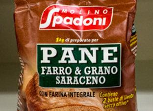 Farina Farro & Grano Saraceno Spadoni 1kg
