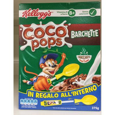 Coco Pops barchette Kelloggs