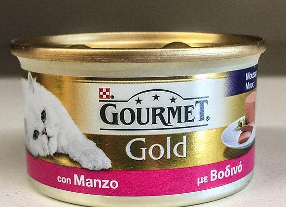 Paté Manzo Gourmet Gold 85gr