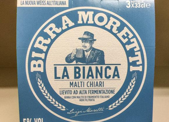 Birra Bianca Moretti 3x33cl
