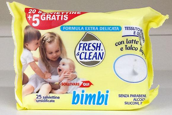 SALVIETTE BABY FRESH E CLEAN