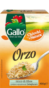 ORZO PERLATO GALLO 400 GR