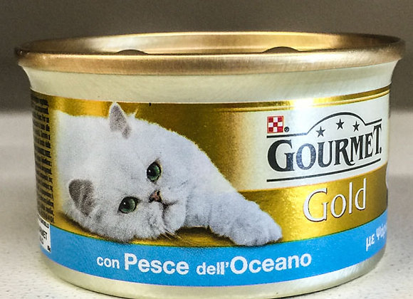 Paté Pesce Gourmet Gold 85gr