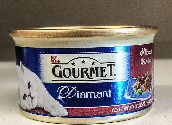 Paté Manzo Gourmet Diamant 85gr