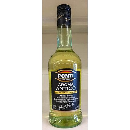 Aceto Aroma Antico bianco PONTI 500 ml.