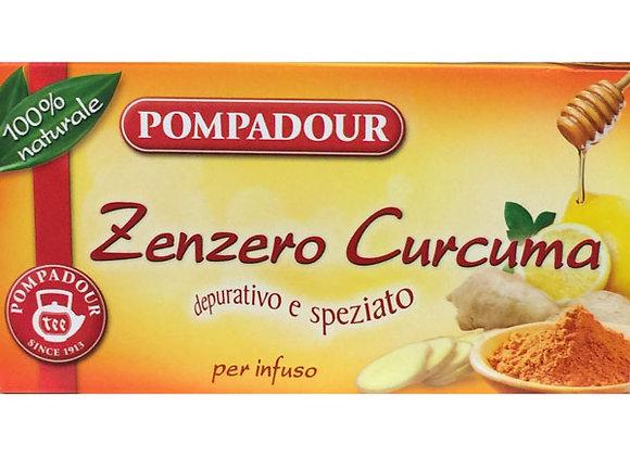 Infuso Zenzero Curcuma Pompadour
