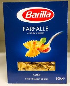 FARFALLE BARILLA 500 gr.