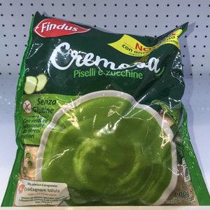 CREMOSA piselli/zucchini 600 GR FINDUS