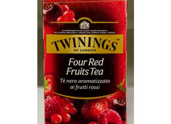 Tè Frutti Rossi Twinings (25 buste)