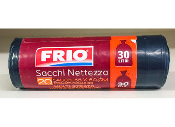 20 Sacchi Pattumiera Frio 30L